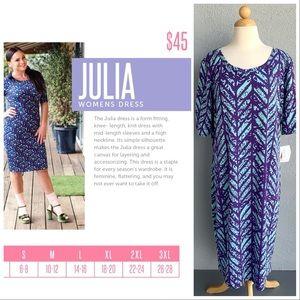 LULAROE Julia Dress Size 3XL